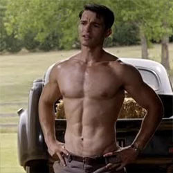 """Dominic Allburn, Aussie Actor, Full Frontal In Movie """"The Model""""!"""