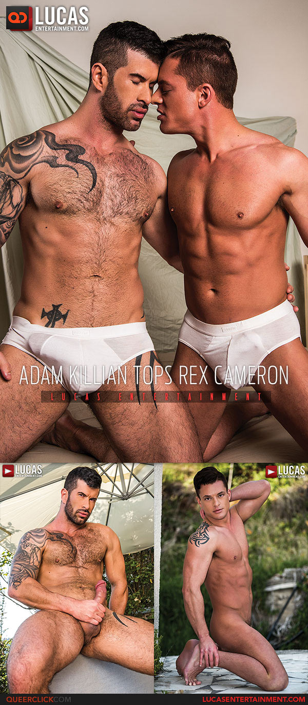 Lucas Entertainment: Adam Killian Fucks Rex Cameron - Bareback