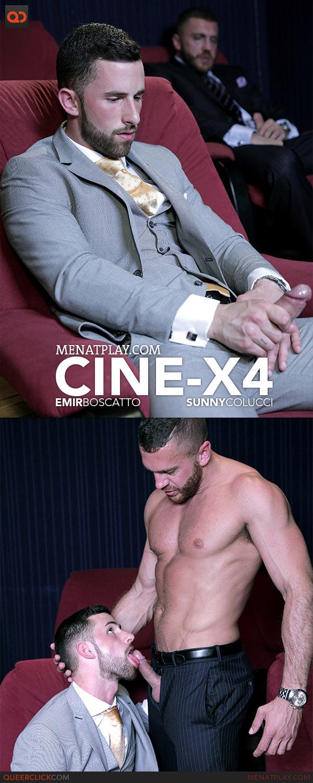MenAtPlay: Cine-X 4 - Emir Boscatto and Sunny Colucci
