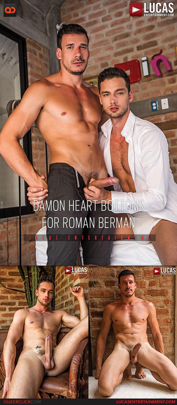 Lucas Entertainment: Roman Berman Fucks Damon Heart - Bareback