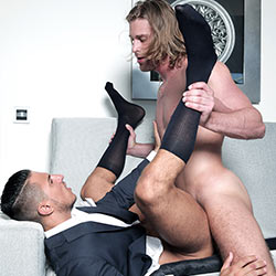 MenAtPlay: Dapper – Johan Kane and Klein Kerr