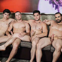 Men.com: Jaxton Wheeler, Will Braun, Aspen,  Griffin Barrows and Brandon Evans