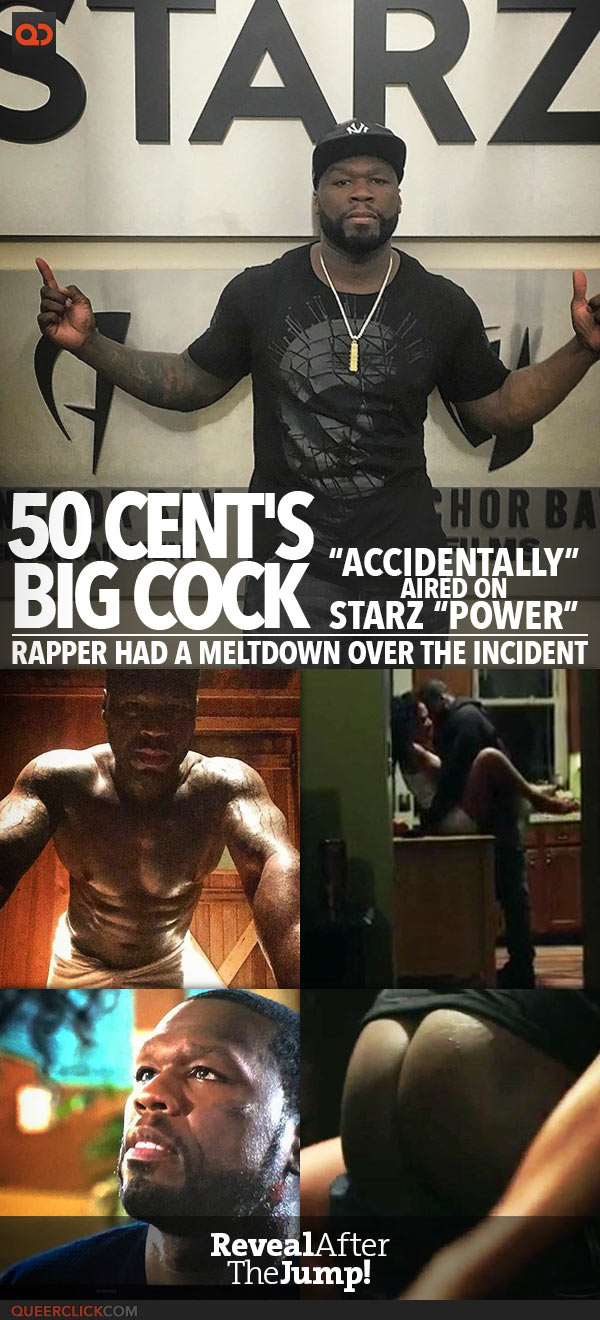 """50 Cent Video Porno 50 cent's big cock got """"accidentally"""" aired on starz """"power"""