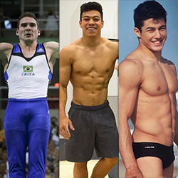 Brazilian Gymnasts Arthur Zanetti And Sergio Sasaki Leaked Nude Video Surfaces – Bonus: Teammate Arthur Nory Also Exposed!