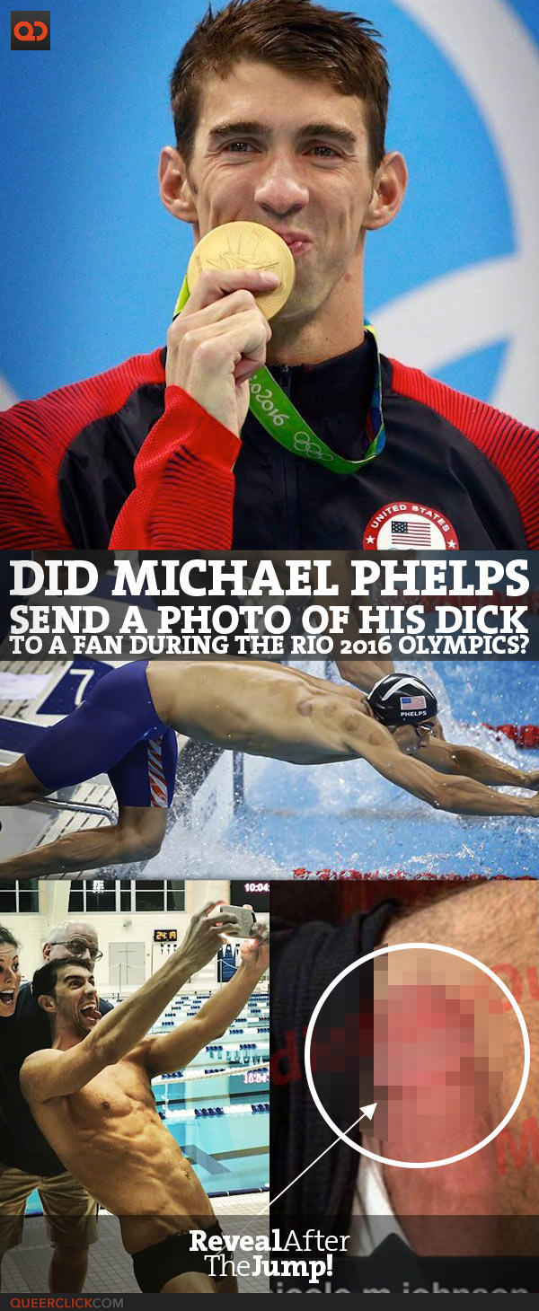 Did Michael Phelps Send A Photo Of His Dick To A Fan During The Rio 2016 Olympics?