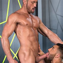 Raging Stallion: Bruno Bernal and Myles Landon
