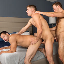 Sean Cody: Randy, Dean and Cory Bareback