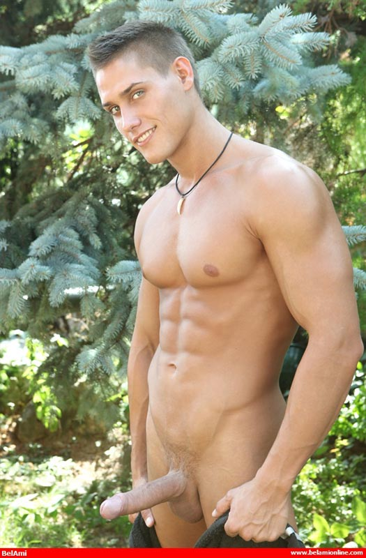 outdoors Nude naked boys