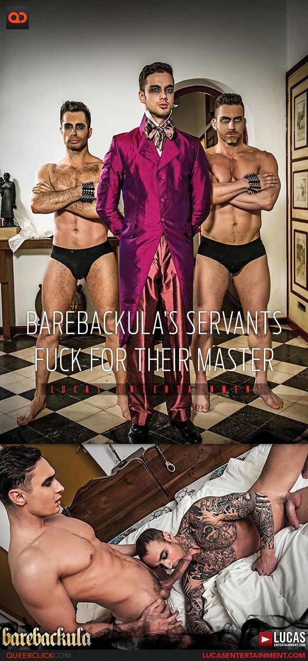 Lucas Entertainment: Dylan James and Alex Kof Fuck Bareback - Barebackula