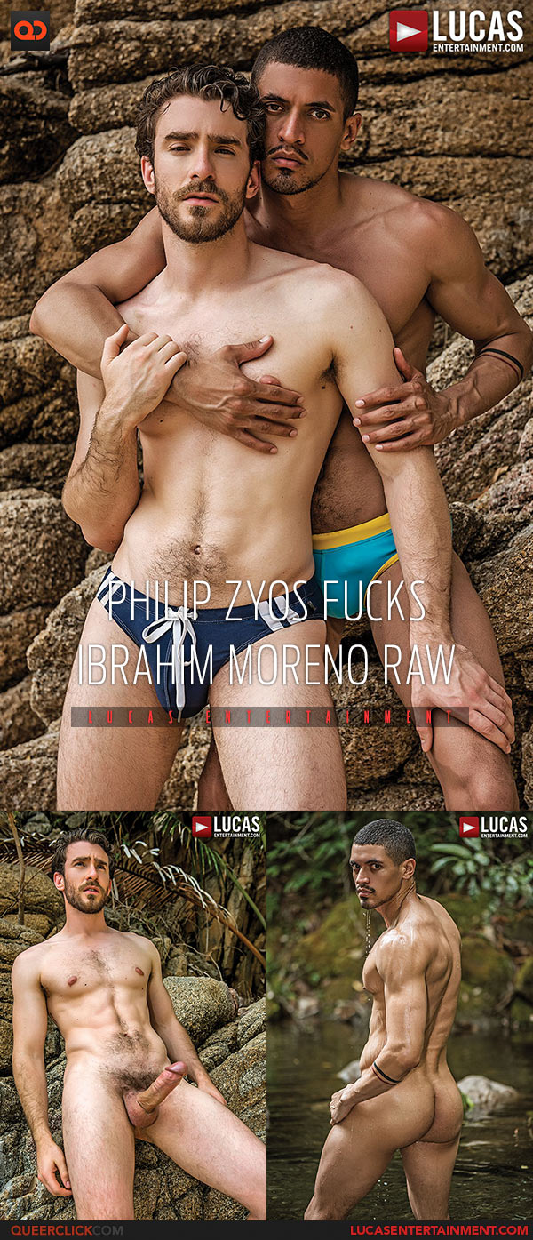 Lucas Entertainment: Philip Zyos Fucks Ibrahim Moreno - Bareback