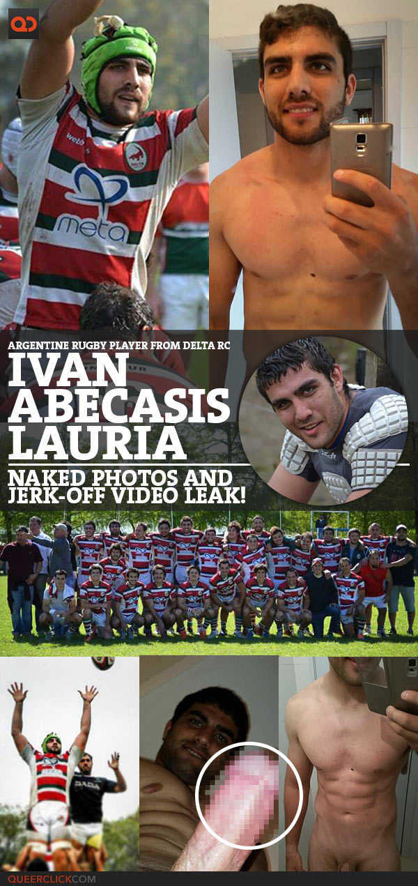 Ivan Abecasis Lauria, Argentine Rugby Player From Delta RC, Naked Photos And Jerk-Off Video Leak!