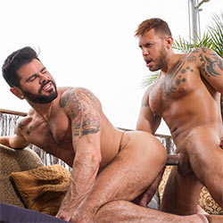 Raging Stallion: Mario Domenech and Viktor Rom