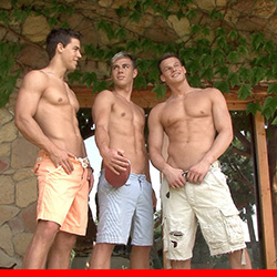Bel Ami: Kris Evans and Ryan Kutcher with Peter Flemming