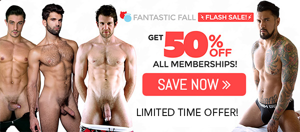 CockyBoys Fantastic Fall Sale 50% OFF!