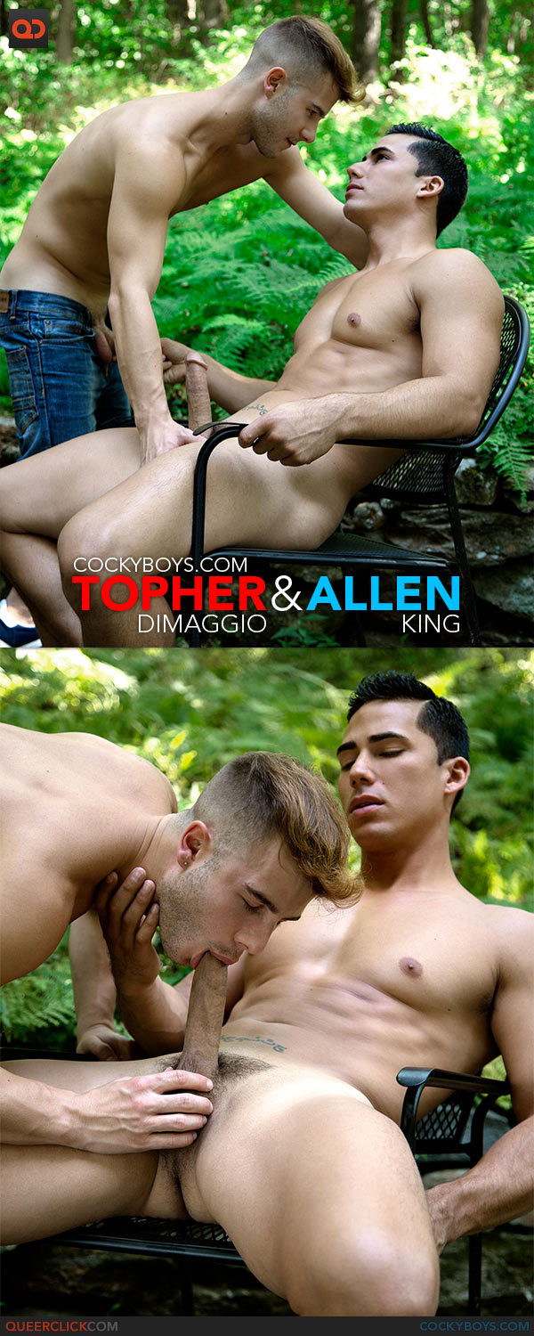Allen King Porno Gay cockyboys: topher dimaggio fucks allen king - queerclick