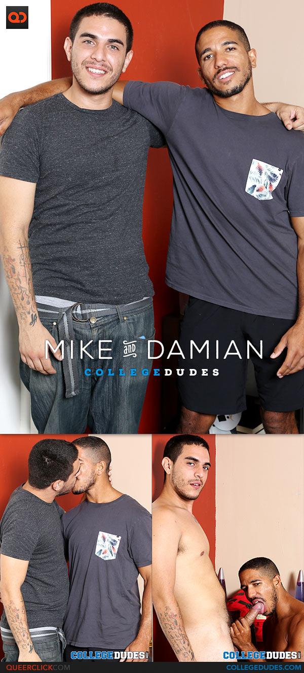 CollegeDudes: Damian Price Fucks Mike Maverick