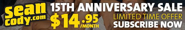 Sean Cody: 15th Anniversary Sale