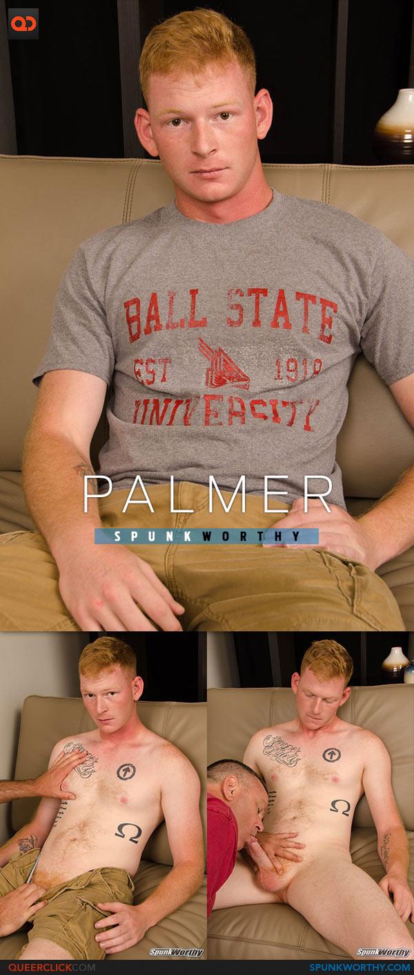SpunkWorthy: Palmer's Blowjob