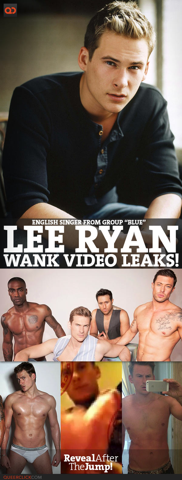 Lee Ryan wank on webcam