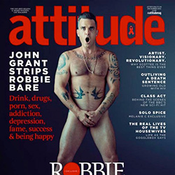 Queer Clicks: November 05, 2016 | Robbie Williams Goes Nude (Again) For 'Attitude' Cover Shoot , Why Aren't There More Gay Baseball Players? , & Other News