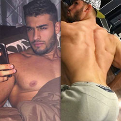 QC Crush: Meet Sam Asghari, Britney Spears' Latest Boy-Toy!