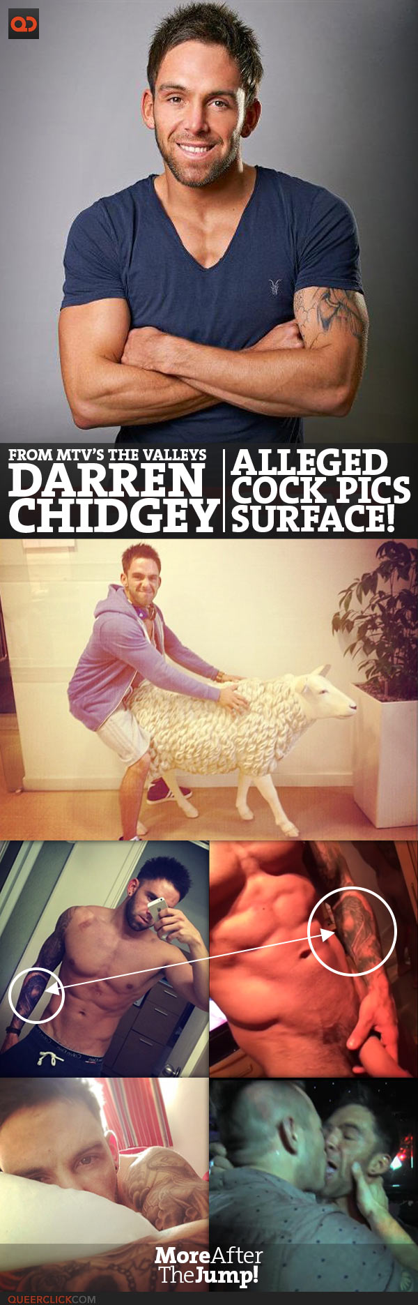 Darren Chidgey, From MTV's The Valleys, Alleged Cock Pics Surface!