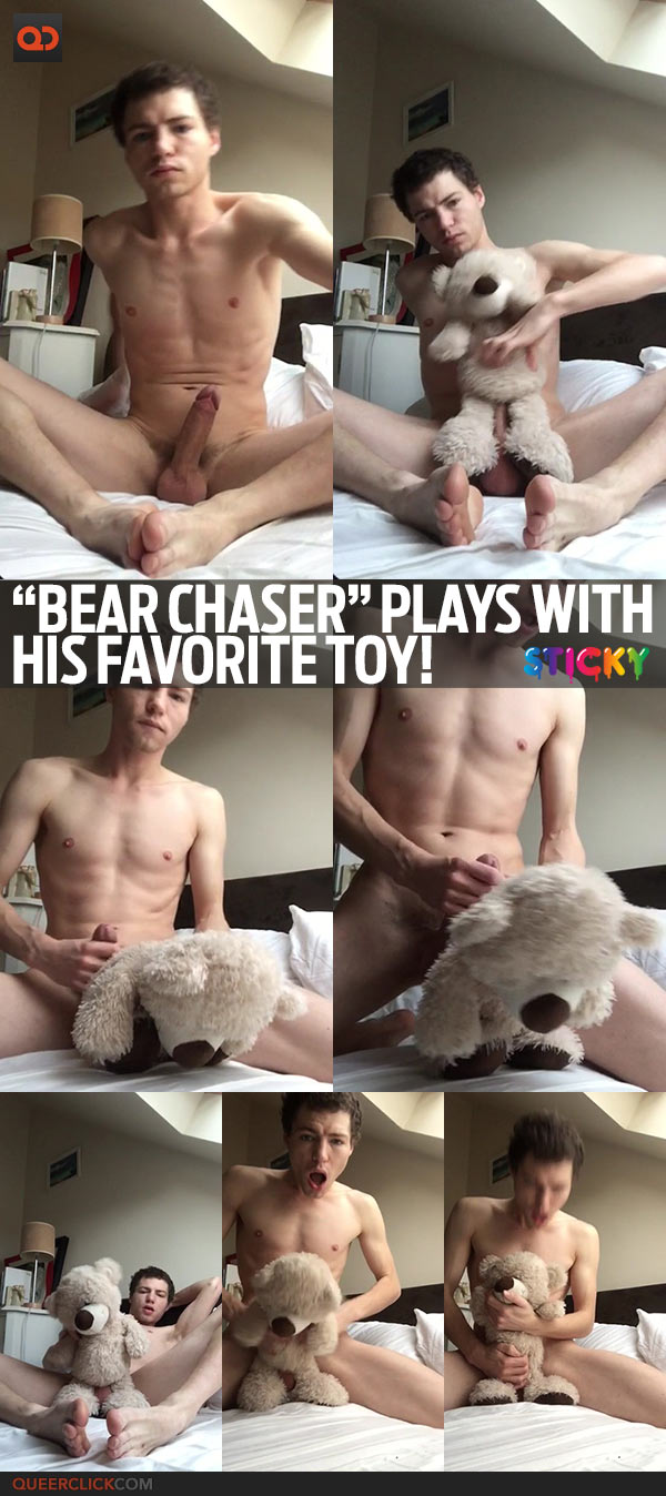 """Bear Chaser"" Plays With His Favorite Toy!"