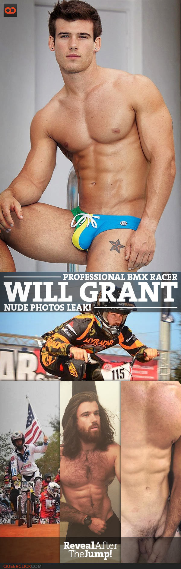 Will Grant, Professional BMX Racer, Nude Photos Leak!