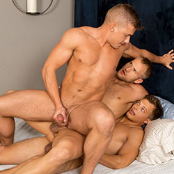 Sean Cody: Blake, Jayden and Porter Bareback