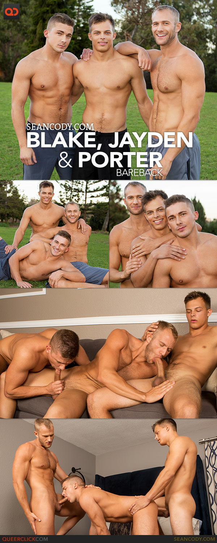 Sean Cody: Blake, Jayden and Porter Bareback