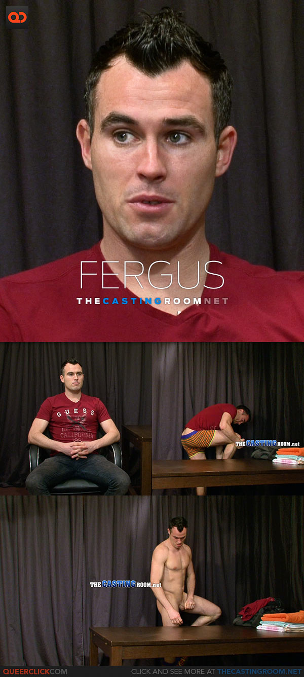 The Casting Room: Real Irish Footballer's Nude Audition at The Casting Room!