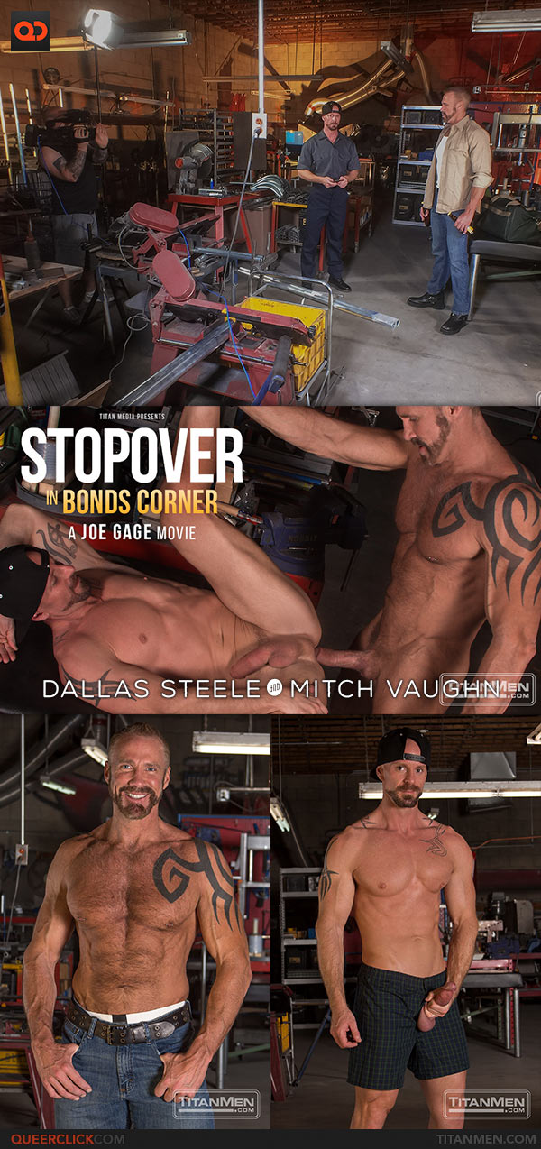 Titan Men: Dallas Steele and Mitch Vaughn Flip Fuck - Stopover In Bonds Corner