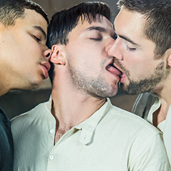 Men.com: Aspen, Kaden Alexander and Griffin Barrows