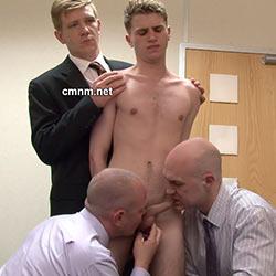CMNM.net – Schoolboy Craig's Long Foreskin