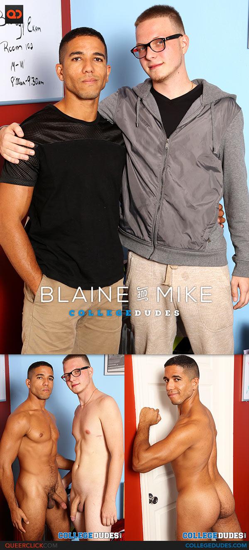 College Dudes: Blaine Cross Fucks Mike Maverick