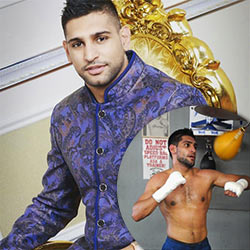 Amir Khan, British-Pakistani Boxer, Gets Caught With His Pants Down Again!