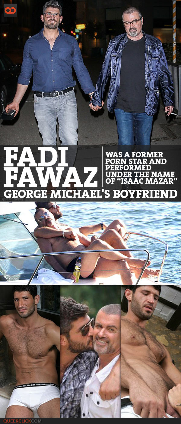 """Fadi Fawaz, George Michael's Boyfriend, Was A Former Porn Star And Performed Under The Name Of """"Isaac Mazar"""""""