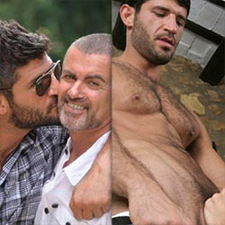 "Fadi Fawaz, George Michael's Boyfriend, Was A Former Porn Star And Performed Under The Name Of ""Isaac Mazar"""
