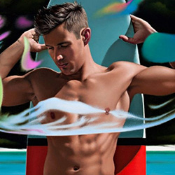 Queer Clicks: February 27, 2017 | Dating Apps Are Causing People To Lower Their Standards, Study Finds, Ross Watson's Erotic Male Artwork To Be Exhibited For Sydney Mardi Gras, & Other News