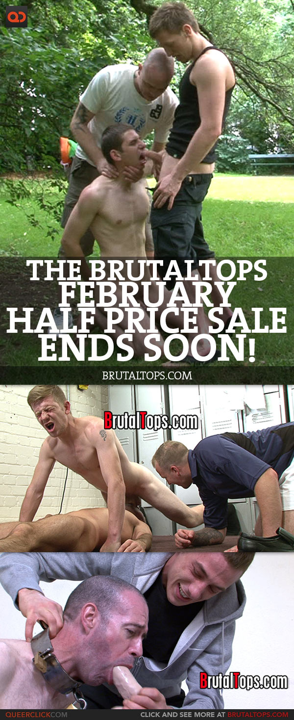 The BrutalTops February Half Price Sale Ends Soon!