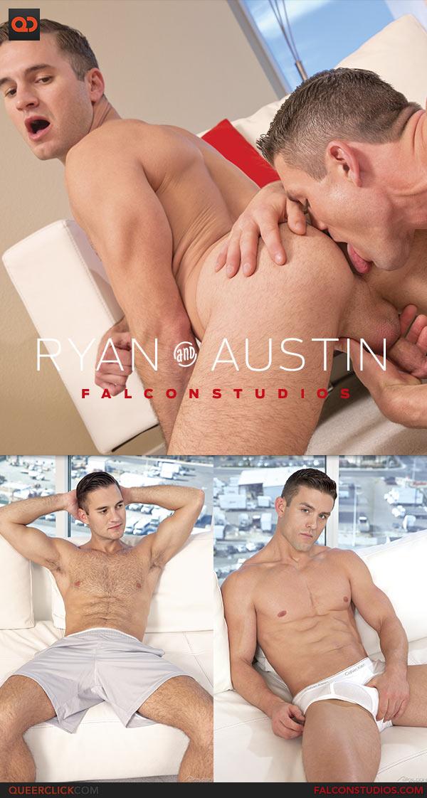 Falcon Studios: Ryan Rose Fucks Austin Carter - Hook'd