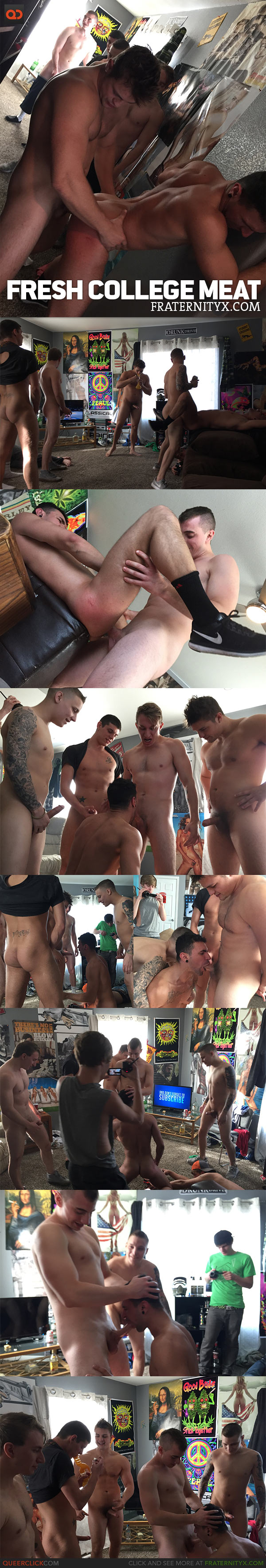 FraternityX: Fresh College Meat
