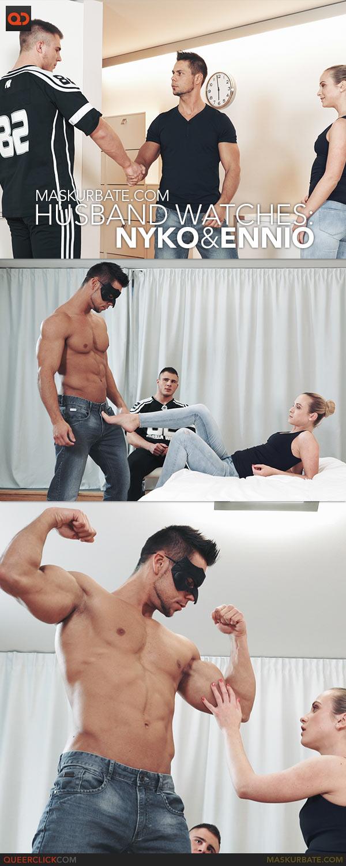 Maskurbate: Husband Watches - Nyko and Ennio