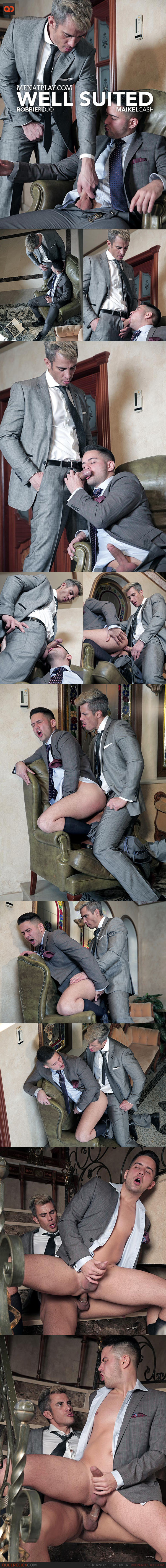MenAtPlay: Well Suited - Robbie Rojo and Maikel Cash