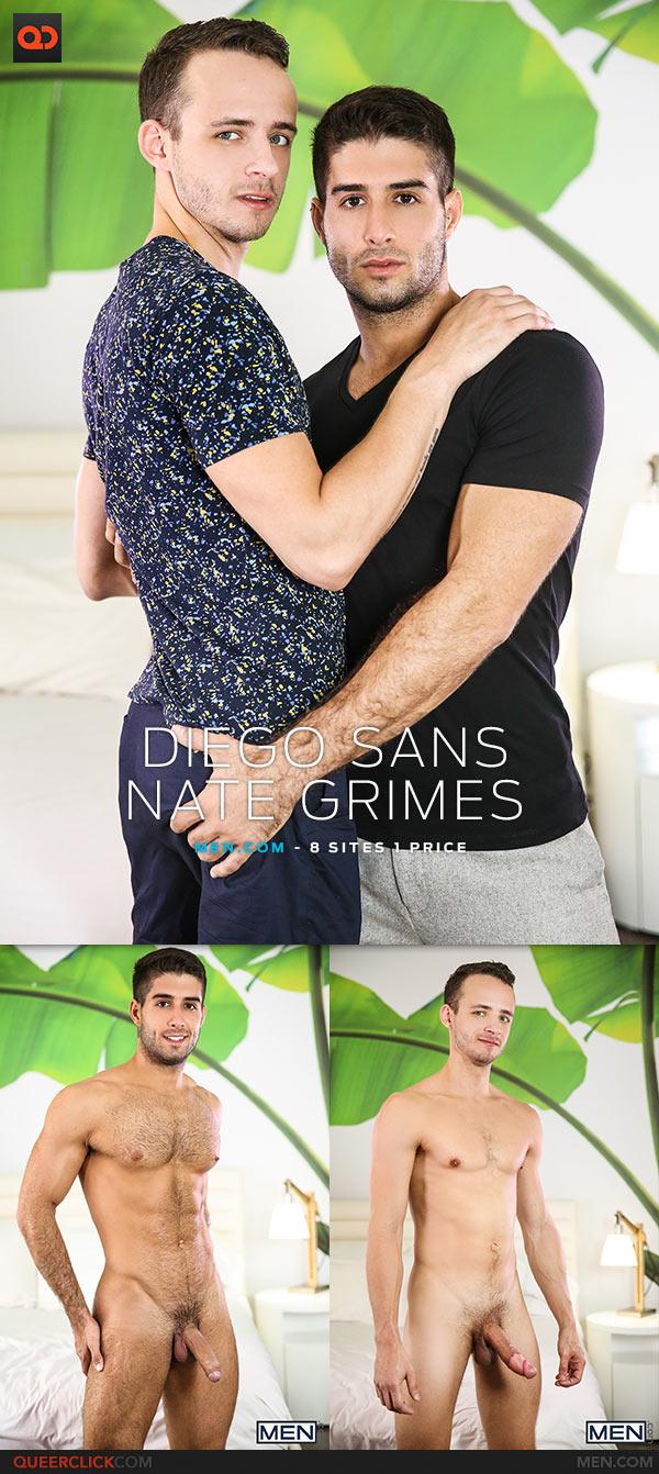 Men.com: Diego Sans Fucks Nate Grimes