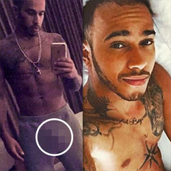 QC Crush: Lewis Hamilton – Let's Make A Pit Stop To Check His F1 Racer Bulge!