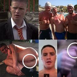 Michael Taylor, Shameless UK Actor, Leaked Nude Jerk-Off Video!