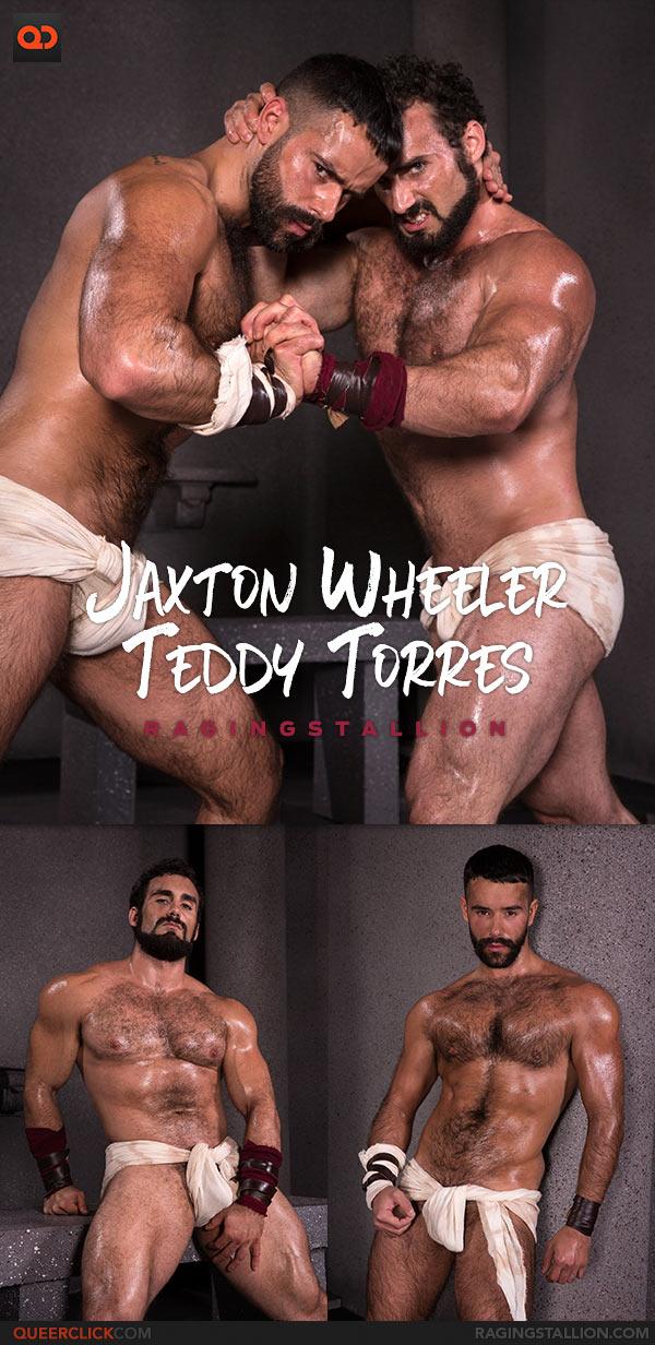 Raging Stallion: Jaxton Wheeler Fucks Teddy Torres