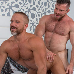 TitanMen: Liam Knox and Dirk Caber Flip Fuck – Audition