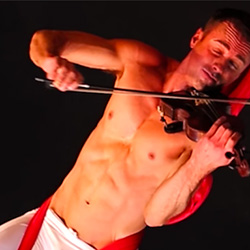 "Queer Clicks: April 30, 2017 | Let Shirtless Violin Player Covering Sia's ""Chandelier"" Into Your Dreams, & Other News"